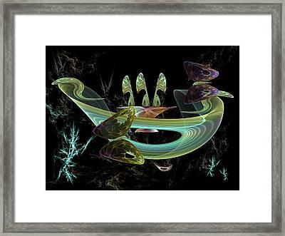 Splendid Planet Framed Print by Ricky Kendall