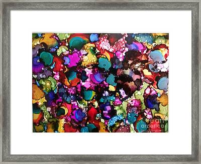 Framed Print featuring the painting Splendor by Denise Tomasura