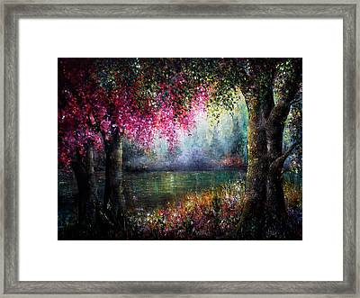 Splendour Framed Print by Ann Marie Bone