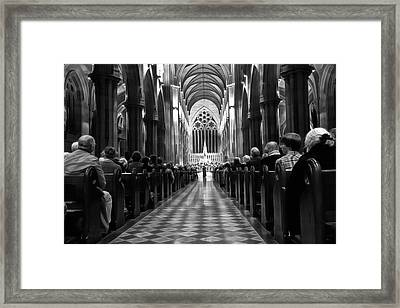 Framed Print featuring the photograph Splendour Of Venice Concert by Miroslava Jurcik