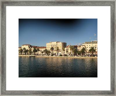 Split- Croatia Framed Print