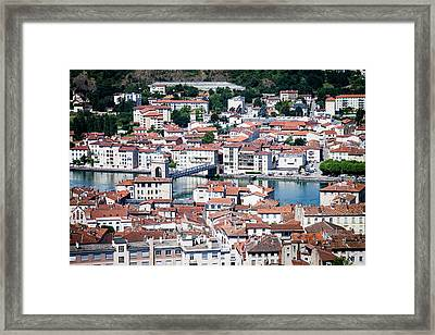 Framed Print featuring the photograph Split Down The Middle by Jason Smith
