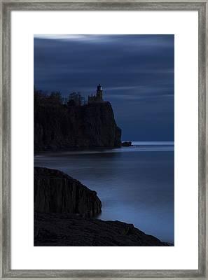 Split Rock 1 Framed Print