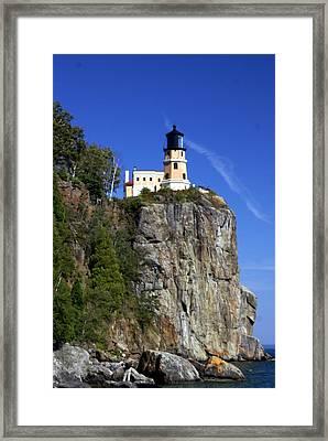 Split Rock 2 Framed Print by Marty Koch
