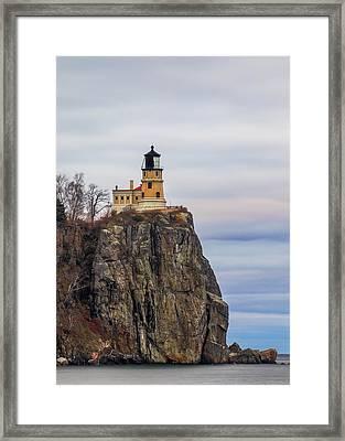 Split Rock  Framed Print
