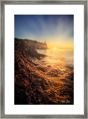 Split Rock Glory Framed Print