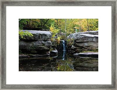 Split Rock In October #1 Framed Print by Jeff Severson