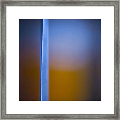 Split Framed Print by Ryan Heffron