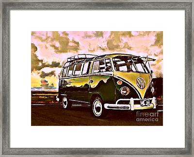 Split Screen Framed Print by S Poulton