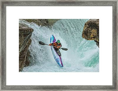 Split Second Of Air Framed Print