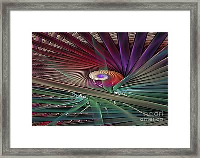Splits With Juliascope Twist Framed Print by Deborah Benoit