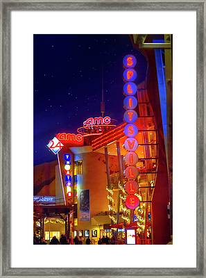 Splitsville Lanes Disney Springs Framed Print