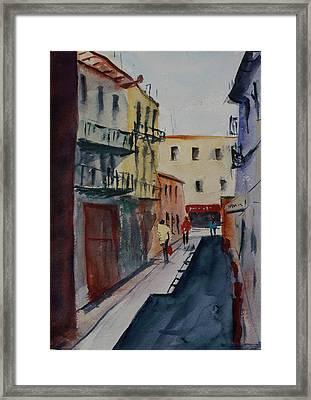 Spofford Street2 Framed Print
