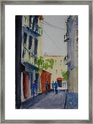 Spofford Street3 Framed Print
