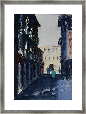 Spofford Street4 Framed Print