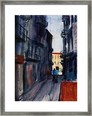spofford Street5 Framed Print