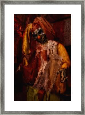 Spoils, The Clown Framed Print