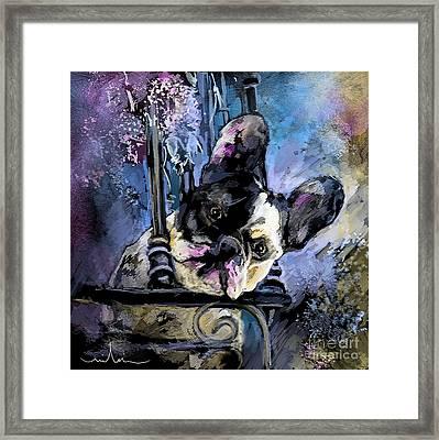 Spok Framed Print by Miki De Goodaboom