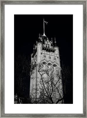 Spokane Courthouse Tower Framed Print