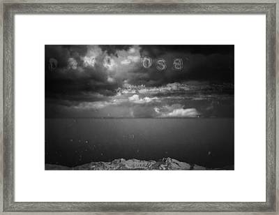 Framed Print featuring the photograph Spoken by Mark Ross