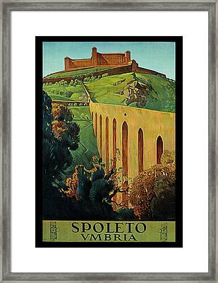 Spoleto Framed Print