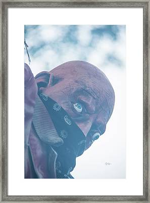 Spooky Bandit Framed Print