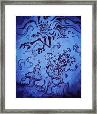 Spooky Jam Framed Print