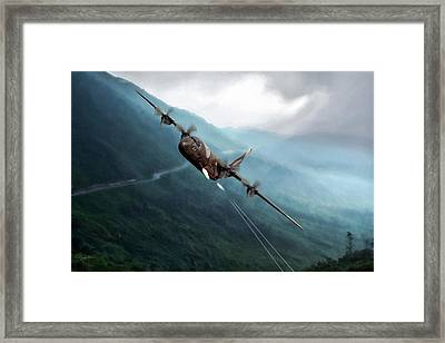 Spooky Framed Print by Peter Chilelli