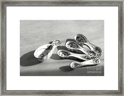 Framed Print featuring the photograph Spoon Family by Aiolos Greek Collections