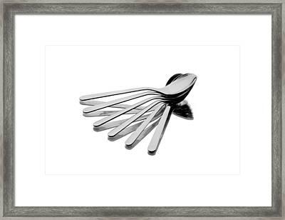 Spoon Fan Framed Print by Gert Lavsen