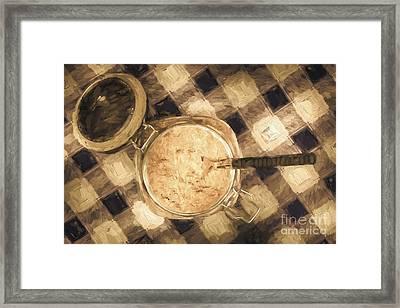 Spoonful Of Sugar Framed Print