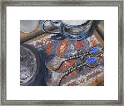 Spoons And More Framed Print