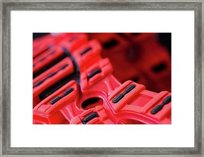 Sport Footprint Framed Print