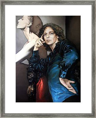S.portrait Framed Print