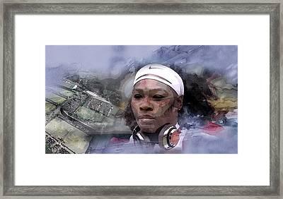 Sports 21 Framed Print