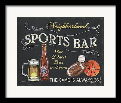 Sports Bar Framed Prints
