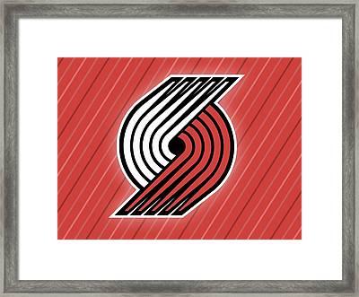 Sports Portland Trailblazers                    Framed Print