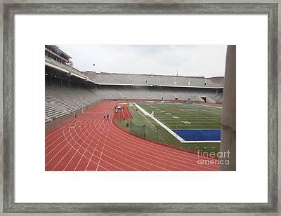 Sports Stadium Penn Franklin  Framed Print by Chuck Kuhn
