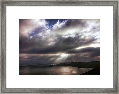 Spot O' Sun Framed Print
