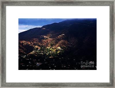 Spotlight From The Heavens Framed Print