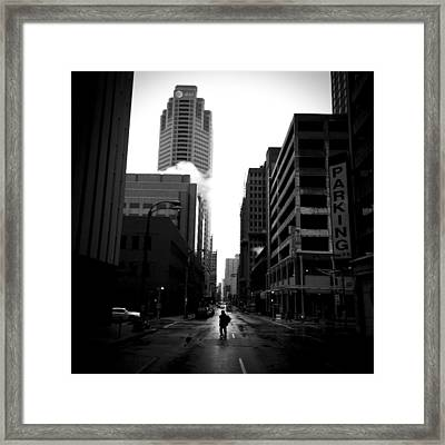 Spotlight Framed Print by Henry Lohmeyer