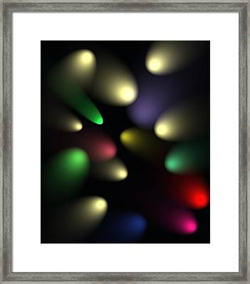 Spotlight Illusion Framed Print