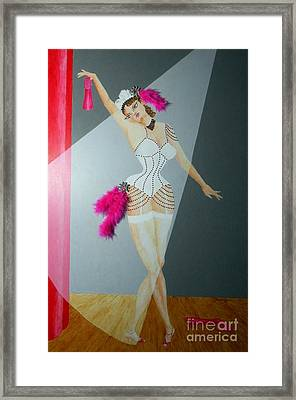Spotlight On Gypsy -- #5 In Famous Flirts Series Framed Print