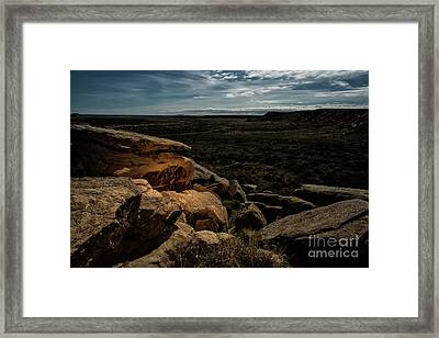 Spotlight On History Framed Print by Melany Sarafis