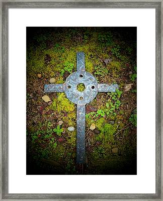 Spotlight On Jerusalem Framed Print by Deborah Montana