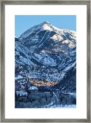 Spotlight On Ouray Framed Print
