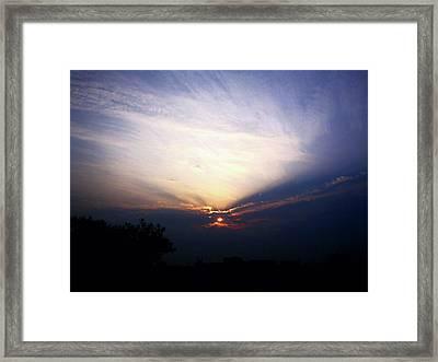 Spotlight Sunrise Framed Print