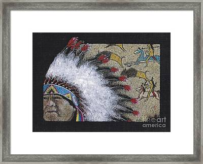 Spotted Eagle Framed Print