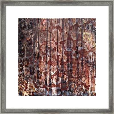 Spotted Leopard Framed Print