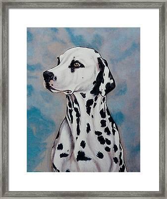 Spotty Framed Print by Lilly King